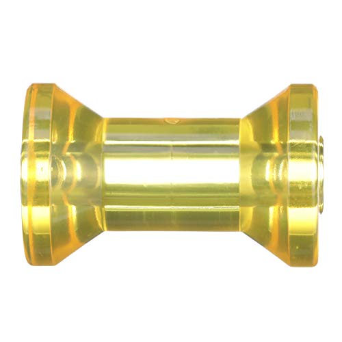Attwood 11317-1 Boat Trailer Spool/Keel Polymer Roller, 5 Inches ()