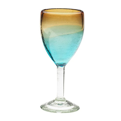 Blown Glass Goblets (Amici Monterey Goblet, 12 oz - Set of)