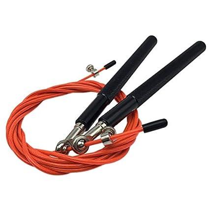 1afee9824 Rodamiento de Bolas de Metal de 3 Metros Ajustable Velocidad de  Entrenamiento Cuerda para Saltar Deporte