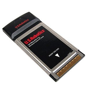 US Robotics USR5410 802.11g Wireless Turbo PC Card
