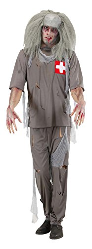 Zombie Doctor Costume Large For Halloween Living Dead
