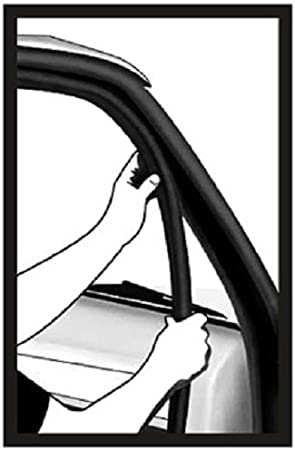 0.137/GRIP Gamme x 0,53/U Hauteur Porte Joint en caoutchouc horizontal Ampoule Ampoule 1,6/cm Hauteur x 0,1/cm