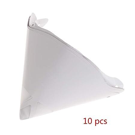 Yiwann Embudo de cocina para coche, 10 piezas desechables de papel ...
