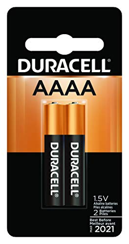 Duracell - AAAA 1.5V Specialty Alkaline Battery - long-lasting battery - 2 Count (Pack of 1) (4a Batteries)