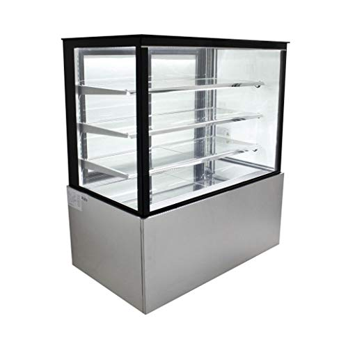 Refrigerated Glass Side Bakery Cake Display Case - Floor Standing - 48