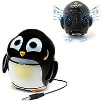 GOgroove Rechargeable Penguin Stereo Speaker