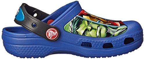 crocs Jungen Creative Avengers Iii Clog Blau (Cerulean Blue)