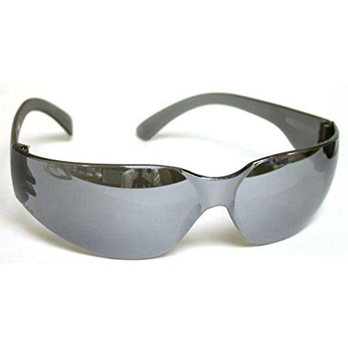 Mirage Silver Mirror Lens Safety Glasses by Radians
