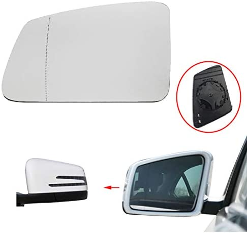 Kawayee Benz S//C//E-class W212 W204 X204 W221 For Right Side Benz Heated Door Mirror Glass and Backing Plate