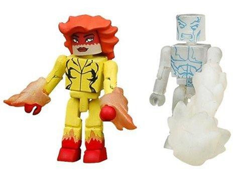 Firestar Series - Marvel Minimates Series 10: Firestar & Iceman