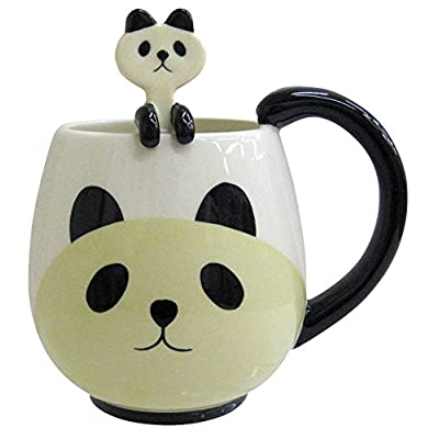 Panda 12 Oz. Mug and Spoon by Decole