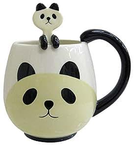 Panda 12 Oz. Mug and Spoon by Decole