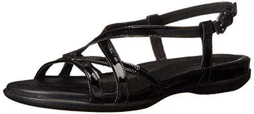 Ecco Calzado Mujer Flash cross-strap Sandalia Negro