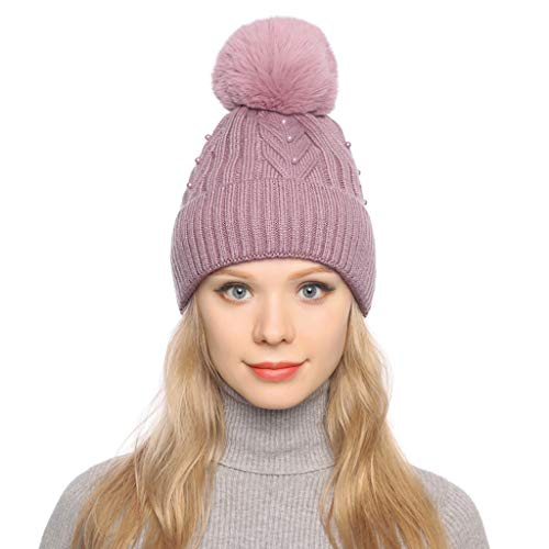 Palarn Newsboy Caps Bomber Cowboy Hats Berets Women Curling Button Cap Hat Winter Warm Thickened Knitted Ball Cap
