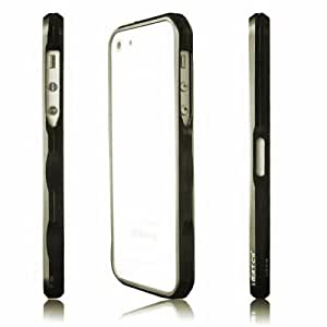 Imatch 1st Aluminum Bumper Case for Iphone 4/4s Iphone 5/5s (5S Grey)