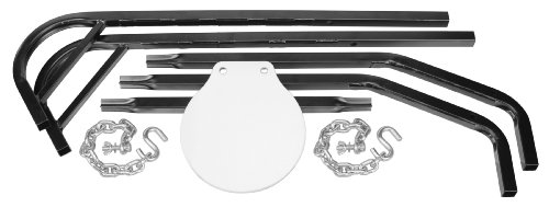 Caldwell Magnum Rifle Gong Complete Kit Certified AR550 Steel 9.25'' Diameter by Caldwell (Image #2)