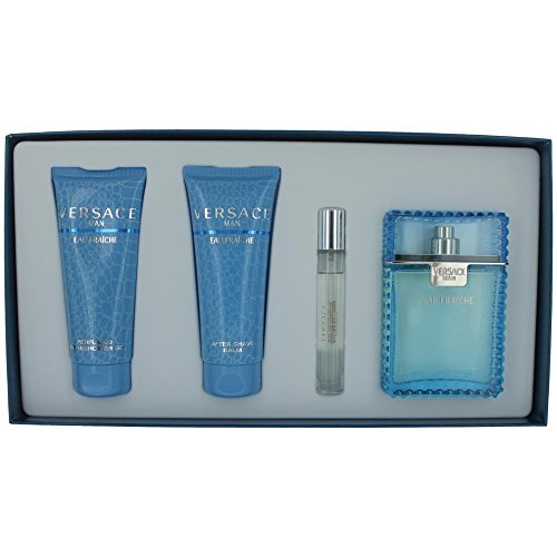 Versace Men's 4-Pc. Eau Fraiche Gift - Made Versace In