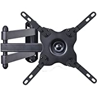 VideoSecu TV Wall Mount Monitor Bracket with Full Motion Articulating Tilt Arm 15' Extension for most 17' 19' 20' 22' 23' 24' 26' 27' 28' 29' 32' 37' 39' LCD LED Displays up to VESA 200x200 ML14B WS2