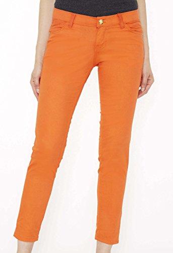 Apple Bottoms Junior Cut Women's Jeans- Orange - 20