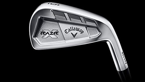 Callaway RAZR X Forged Single Iron 6アイアンプロジェクトX Flighted 5.5スチールStiff Right Handed 37.5 in   B075WPDC8L