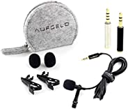 Professional Lavalier Lapel Microphone Compatible with Mac Macbook iPhone iPad iPod Android Samsung Windows Sm