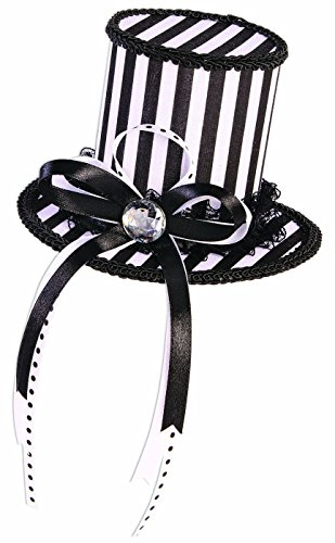 Forum Novelties Men's Mystery Circus-Mini Top Hat-Black, White,