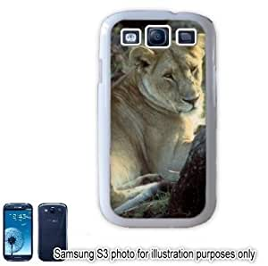 African Lion Lioness Photo Samsung Galaxy S3 i9300 Case Cover Skin White