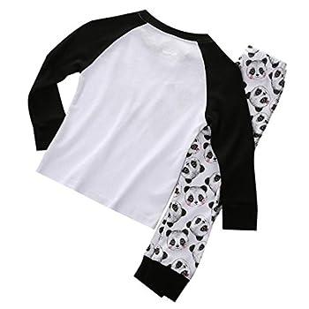 Boys Girls Pajama Set - Sodial(r)cute Panda Baby Toddler Kids Boys Girls Sleepwear Nightwear Pajama Set 4t 1
