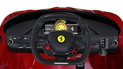 081d0ddb1ec Aosom 12V Ferrari LaFerrari Kids Electric Ride On Car with MP3 and Remote  Control - Red
