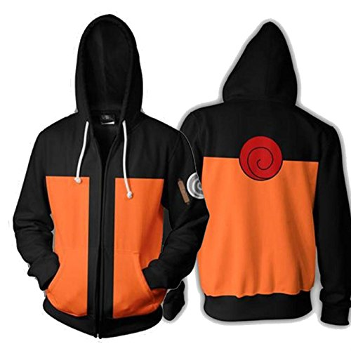 Coshome Anime Naruto 3D Hoodies Mannen Vrouwen Sweatshirts Lente Pullover Jacket by CBSUKJBR