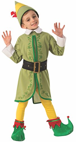 Rubie's Child's Elf Buddy Costume, Small