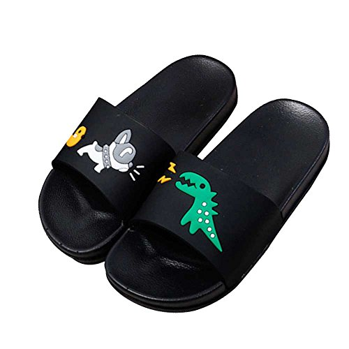 JACKSHIBO Boys Girls Slide Sandals, Outdoor Indoor Sandals Beach Water Flip Flop by JACKSHIBO (Image #1)