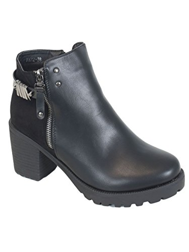 Kebello Bottines FR72 Noir uygNQ4qPWS