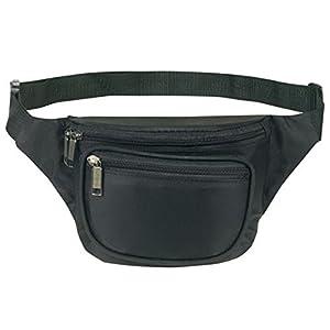 Yens® Fantasybag 3-Zipper Fanny Pack-Black, FN-03
