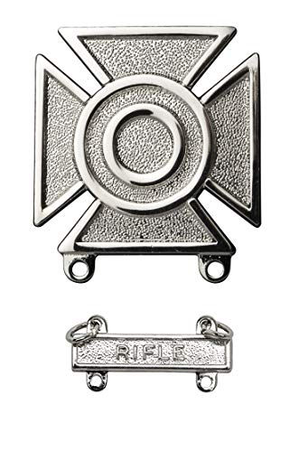 Sharpshooter Qualification badge with Rifle tab