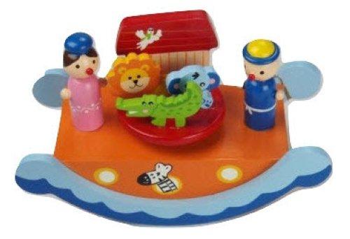 Musicbox Kingdom 43875 Music Box Ark Noah
