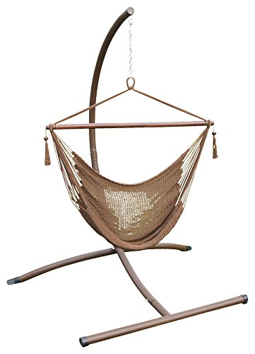 Phat Tommy Outdoor Patio Garden Hammock Chair & Stand Set...
