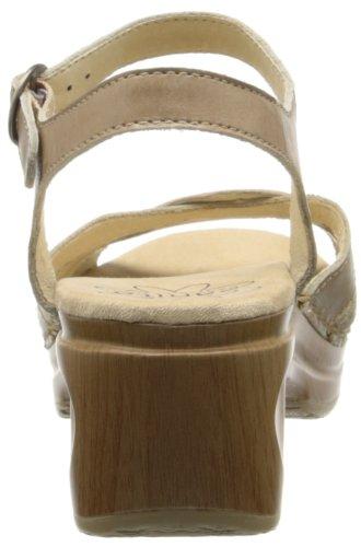 Sanita - Sandalias de vestir para mujer multicolor - beige