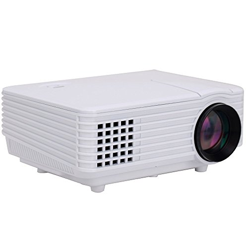 Video projector ivishow mini multi media portable video for Top rated mini projectors