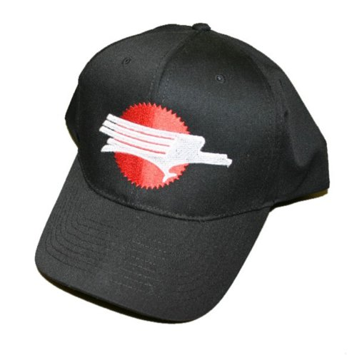 Missouri Pacific Screaming Eagle Embroidered Hat [hat05] Black