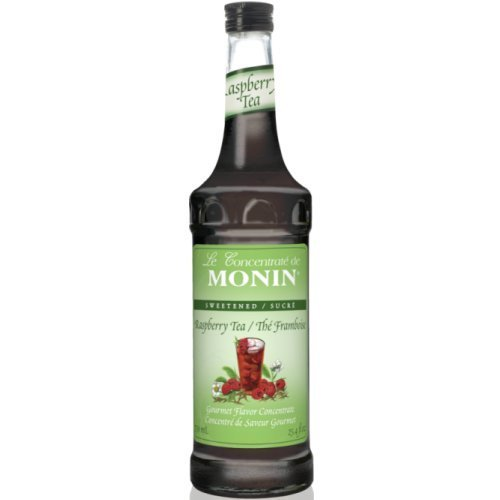 Monin Syrups Raspberry Tea Concentrate Syrup, 750 ml botttle