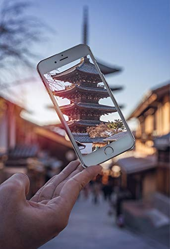 Photography Poster - Phone, Iphone, Temple, Japan, Tokyo, 24