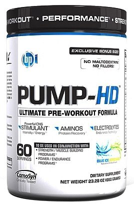BPI POMPE-HD 60 Portions - Blue Ice Lemonade