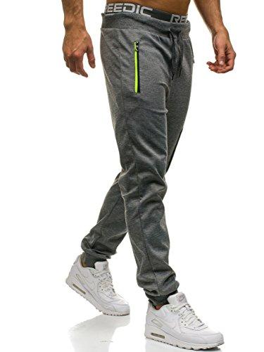 Pantalon survêtement 80026 impriméstyle Bolf de pour de sportif survêtement hommepantalon Grau avec 6f6 0mNvw8n