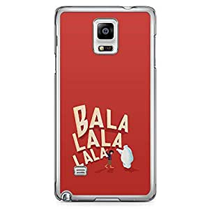 Loud Universe Balala Big Brother Movie Samsung Note 4 Case Kawai Japanesse Big Brother Samsung Note 4 Cover with Transparent Edges