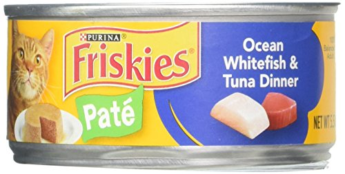 Classic Pate Ocean Whitefish and Tuna Cat Foods Size: 5.5-oz
