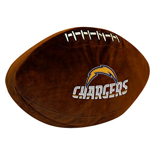 - Officially Licensed NFL Los Angeles Chargers 3D Sports Pillow