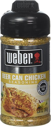 (Weber Grill Beer Can Chicken, 5.5 Ounce (Pack of)