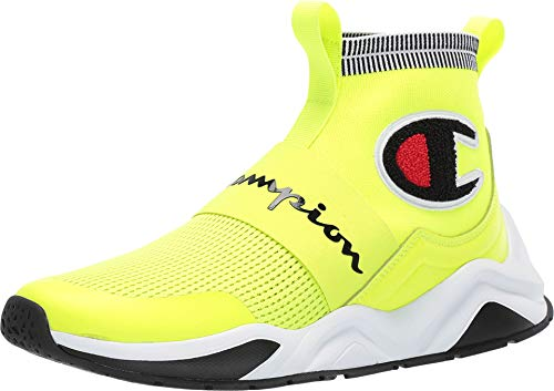 Champion Men's Rally Pro Neon Light/Black 9 M US (Champions Sneakers Men)
