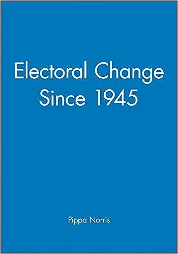 Electoral Change Since 1945  Pippa Norris  9780631167167  Amazon.com ... 58431dd2e